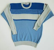 80S CASUALS ORIGINAL VINTAGE FILA JUMPER BORG BJ LARGE