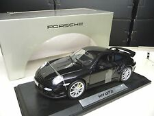 1:18 NOREV Porsche 911 997 GT2 schwarz black DEALER EDITION NEU NEW