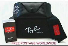 REAL RAY BAN SUNGLASSES BLACK COVER-CASE-POUCH/ AVIATOR/CLUB MASTER/WAYFARER