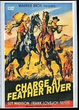 THE CHARGE AT FEATHER RIVER GUY MADISON RARE WESTERN  ALL REGION DVD