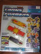 VINTAGE TRANSFORMERS G1 MICROMASTER COMBINER CONSTRUCTOR SQUAD FIGURES 1989 MOC