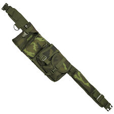 TACTICAL WAIST BELT HIP BAG 6 POCKETS TRAVEL HIKING CAMPING CZECH WOODLAND CAMO