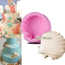 Shell Silicone Fondant Mould Cake Decorating Chocolate Soap Mold Sugarcraft DIY