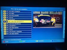 12 months IPTV Subscription ~ Mag 254/250 Smart TV Arabic/UK/US/Europe/Asia