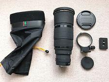 Sigma 120-300mm f2.8 EX DG HSM Lens [non OS] =Canon EF +Kata Lens Cape +Extras