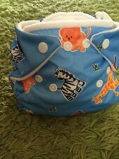 New Limited edition Zoo print Fuzzi Bunz original nappies Fuzzibunz 7-18lb small