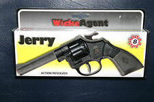 TOY GUN LONE STAR WICKE AGENT JERRY REVOLVER 8 SHOTS SUITABLE FOR KIDS 3+