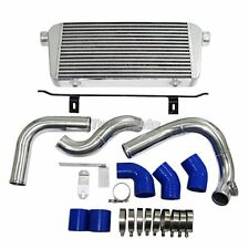 "CXRACING 29""x11""x3"" Front Mount Intercooler Kit For 05 - 08 Audi A4 B7 2.0T"