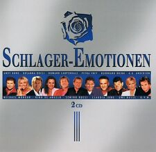 Schlager émotions - 2 CD NEUF-Francine Jordi vent semino rossi Claudia Jung
