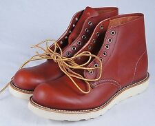 Red Wing Round Toe Boot (Mens 8.5D)