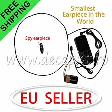 Spy Invisible Earpiece Hidden Wireless mini Ear Earphone for phone exam cheat