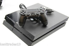 Sony Playstation 4 PS4 Modelo de Reino Unido 500GB Negro Buen Estado, Funciona Perfectamente
