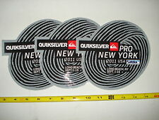 QUIKSILVER NEWYORK 2011 RARE  SURFBOARDS STICKER PACK 3 UNITS