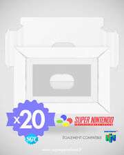 LOT DE 20 CALES NEUVES POUR BOITES SUPER NINTENDO SNES
