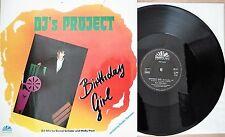Maxi-Single:  DJ's Project ‎– Birthday Girl RARE GER 1986 Electronic/ Pop