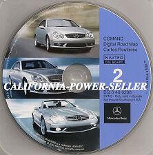 Mercedes Benz DVD S SLK SL E Navigation Disc CD BQ 6 46 0161 NORTH/SOUTH WEST