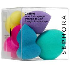 Sephora Confetti Set of 5 Mini Sponges Beauty Blender FREE SAMPLES & SHIPPING!!