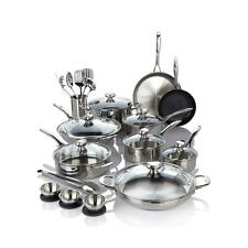 Wolfgang Puck Bistro Elite 27 piece Stainless Steel Favorites Cookware Set