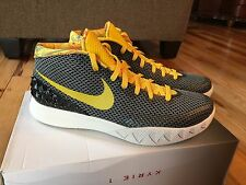 "NIKE KYRIE 1 LMTD LIMITED ""DREAM RISE"" BLACK/TOUR YELLOW-SAIL 812559-071 SIZE 12"