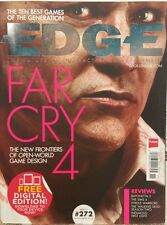 Edge UK Far Cry 4 New Frontiers Reviews #272 Nov 2014 FREE PRIORITY SHIPPING!