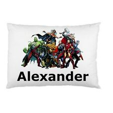 MARVEL SUPERHEROES Personalized childrens kids BED pillow case