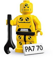 "COLLECTIBLE MINIFIGURE Lego Series 1 ""DEMOLITION DUMMY"" Genuine Lego NEW 8683"