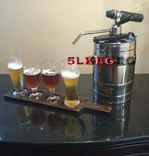 5L Mini Keg Draft Beer Dispenser Portable Party/Home Brew Bar Dispensing Tap SYS