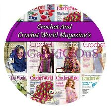 Crochet World And Crochet Magazine 211 Issues All In PDF (D1)