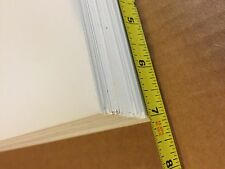 "10 WHITE STYRENE PLASTIC SHEET .010"" THICK 7"" X 12"""