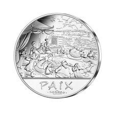 FRANCE 2015 50 EURO ARGENT ASTERIX BU LE BANQUET