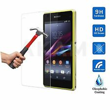 100% Genuine Tempered Glass Film Screen Protector Sony Xperia Z1 Compact Mini