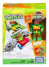 Mega Bloks Teenage Mutant Ninja Turtles Half-Shell Heroes Raph with Skate... New
