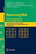 Reasoning Web. Semantic Technologies for Information Systems: 5th International