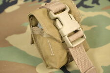 COYOTE BROWN MOLLE II FRAG GRENADE POUCH W BUCKLE 1 NEW MILITARY ISSUE GENUINE