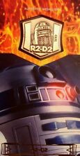 STAR WARS REVENGE OF THE SITH 3D WIDEVISION MEDALLION R2-D2  44/60
