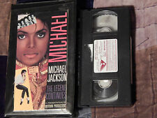 Michael Jackson - The Legend Continues + Moonwalker (VHS x 2) LOT - (Free Ship.)