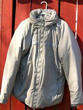 Extreme Cold Weather Parka Genuine US Military Gen III L7 Primaloft Med Reg Grey