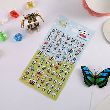 1Set Kid Crafts Cute Panda Soft Padded 3D Stickers Scrapbooking Party Xmas Gifts