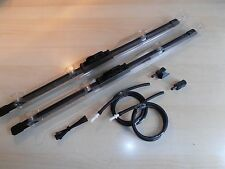 TOYOTA PREVIA UPGRADE  (TRICO) FLAT WIPER BLADES with WASH JETS and TUBE