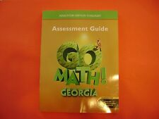 Go Math! Georgia Assessment Guide Grade 5 (Common Core Edition)