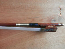 Nice Carbon Fiber and Pernambuco Hybird Violin Bow 4/4  Snake wood frog
