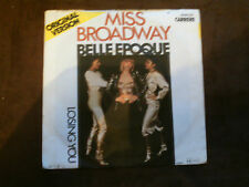 Carrere 7 inch single Miss Broadway di Belle Epoque (1977)