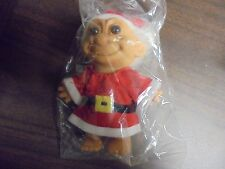 RUSS Christmas  Santa Clause Troll Doll 5""