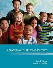 Abnormal Child Psychology  (US HARDCOVER STUDENT 6/E; ISBN-13: 9781305105423)