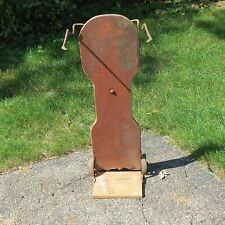 ANTIQUE PRIMITIVE FARM GRAIN/FLOUR DOLLY HAND TRUCK/CART AGRICULTURE -UNUSUAL