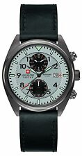 Swiss Military Men's SM34302AEU/H04S Quartz Watch with Grey Dial Analogue Dis...