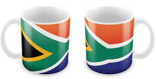 SOUTH AFRICA Flag Mug Gift Idea for Christmas Holiday Cup 079