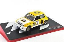 Renault 5 Turbo Rallye RACE - 1983 1:43 IXO ALTAYA