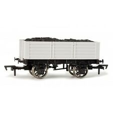 Dapol A015 'Un Painted' 5 Plank Open Mineral Wagon With Load Grey New Boxed -T48