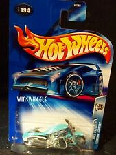 HOT WHEELS 2004 #194 -1 SCORCHIN SCOOTER TEAL THAIL L04C